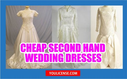 cheap second hand wedding dresses