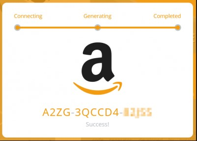 free amazong gift card