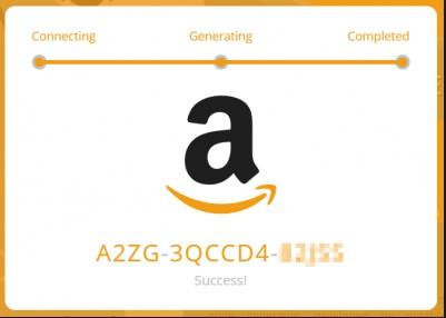 free amazon codes no human verification