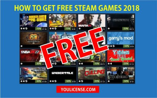 HOW TO GET FREE STEAM GAMES 2019