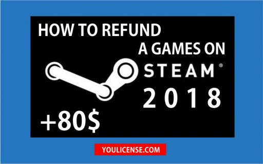 how to refund a games on steam 2018