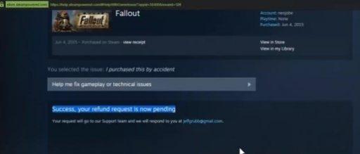 Stream Refund for Bundling games