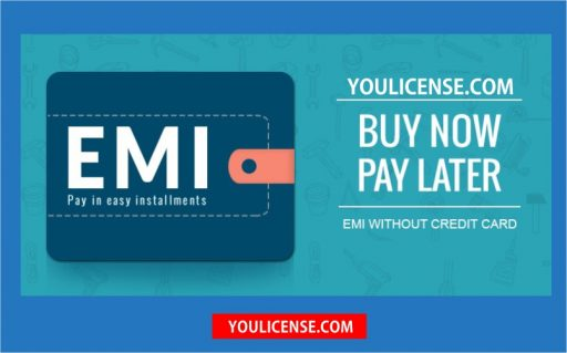 how to shoping on emi without credit card