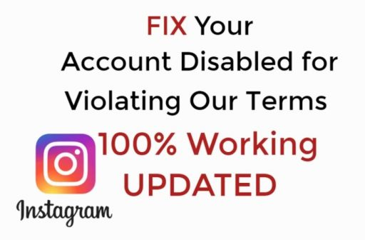 account disabled instagram