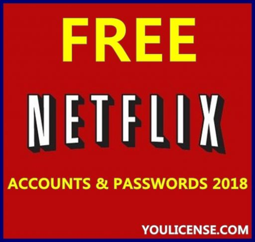 Free Netflix Accounts and Passwords 2018