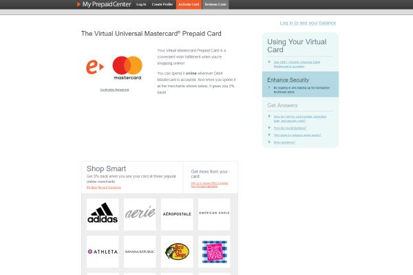 Free Virtual Credit Card With Money for Verification 2019