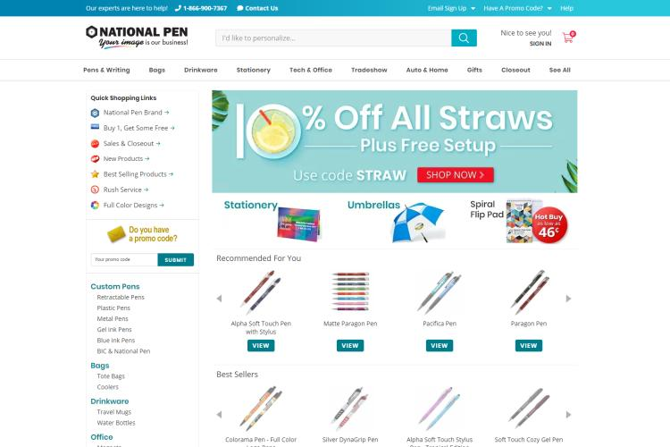Free Samples by Mail Free Shipping 2019: National Pen