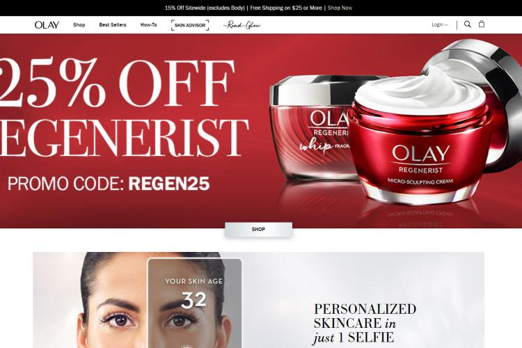 Free Samples by Mail Free Shipping 2019: Olay
