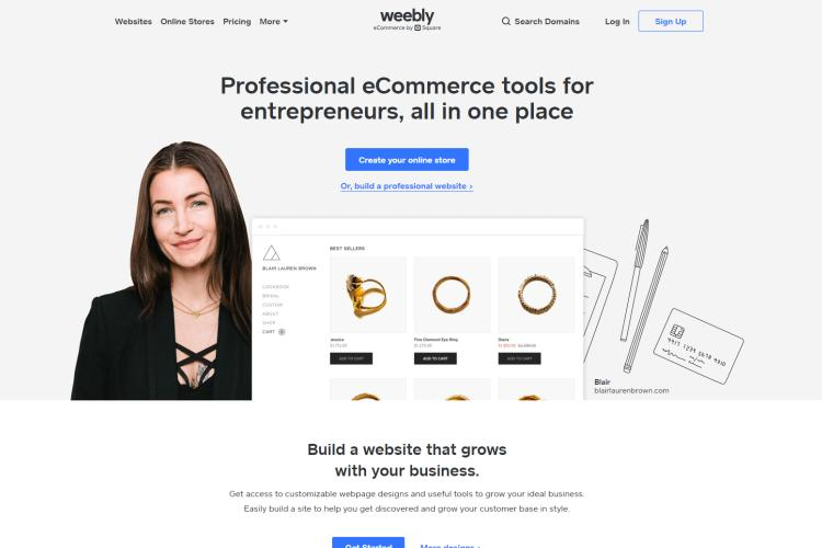 57 Best Free Web Hosting Sites 2019 (Reviews & Comparison): Weebly