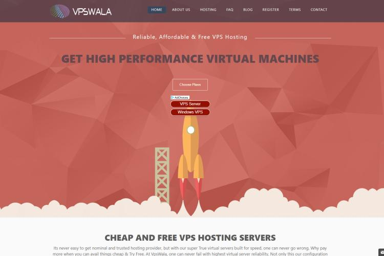 VPSwala – Free VPS Hosting No Credit Card Required