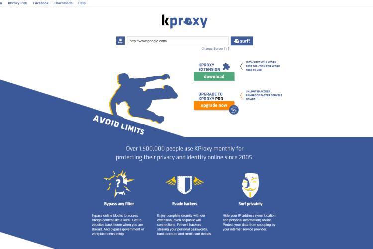 Kproxy app