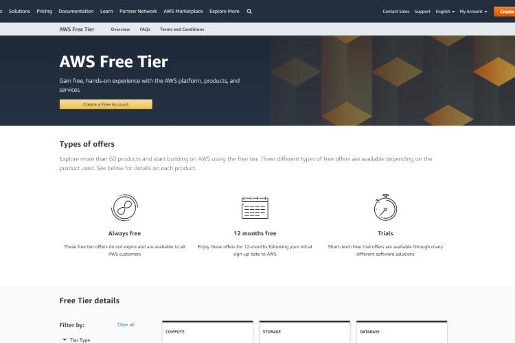 Students Free VPS with Amazon AWS
