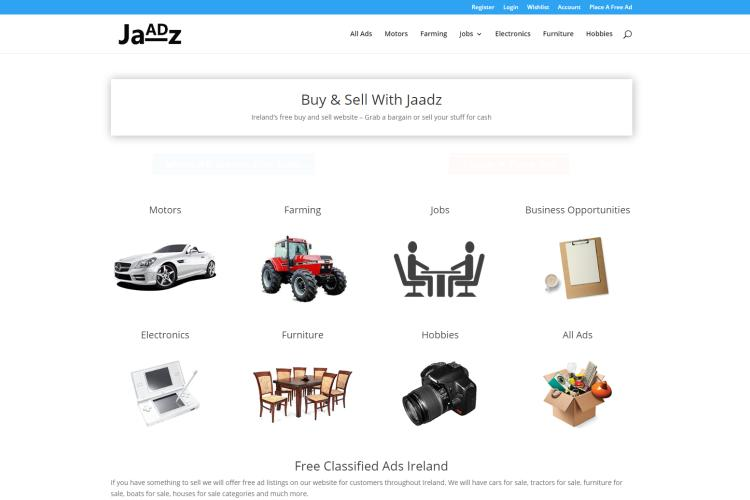 Best Free Sites like Craigslist for Free Ads: Jaadz