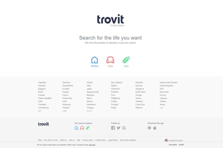 Best Free Sites like Craigslist for Free Ads: Trovit