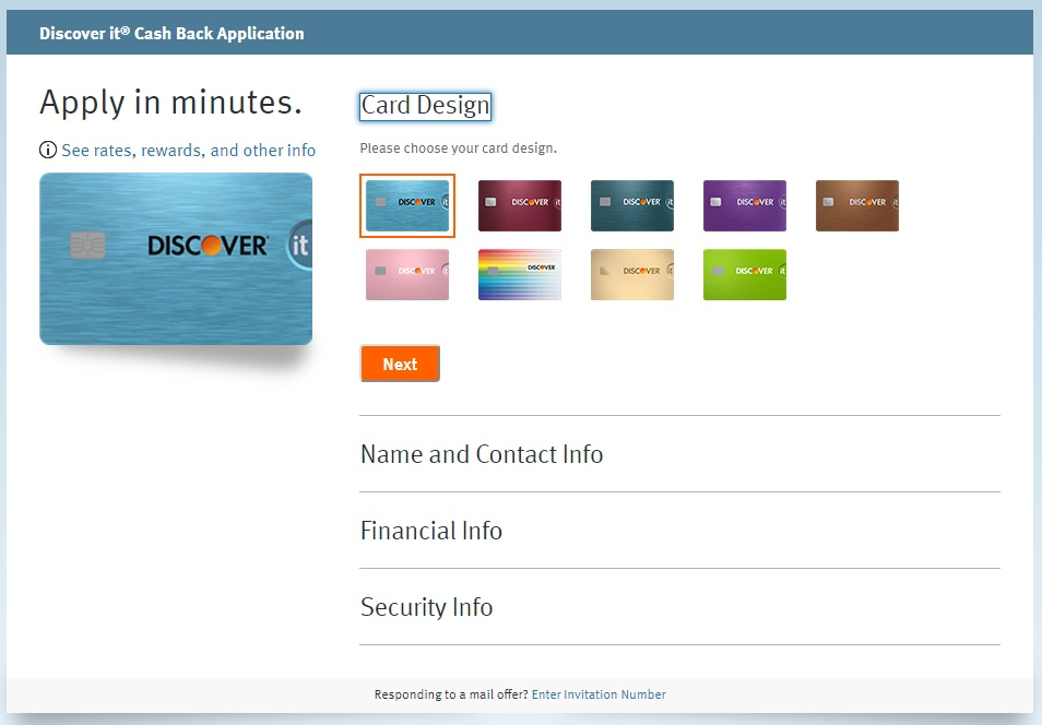 Discover it Cash Back Credit Card Online for Free